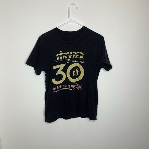 Unbranded Other - SOLD M Black Stryper 30th Anniversary 2016 Shirt